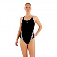 Speedo Bañador Deportivo Monogram Muscleback AF Mujer