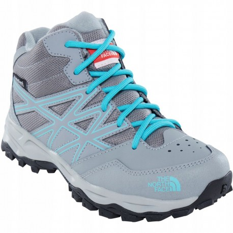 The North Face Bota Hiker Mid Gris Mujer